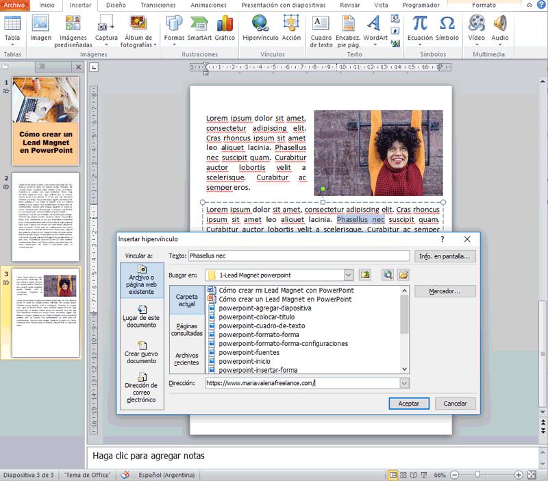 Cómo crear un Lead Magnet con PowerPoint 15