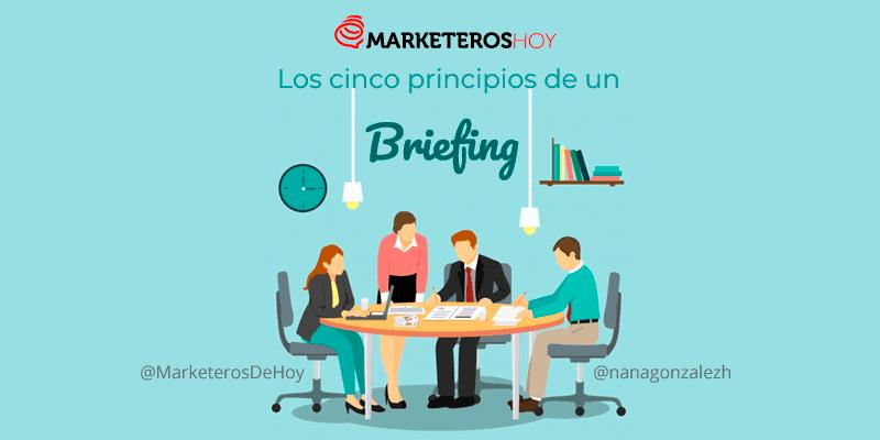 Los cinco principios de un buen briefing