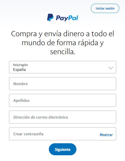 Paypal paso a paso