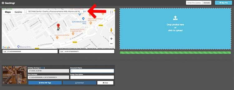 como geolocalizar tus fotos
