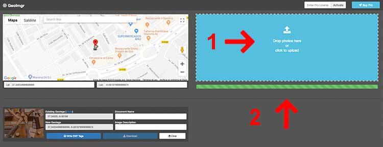 cómo geolocalizar tus imágenes para el SEO local
