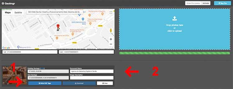 geolocalizar tus fotos