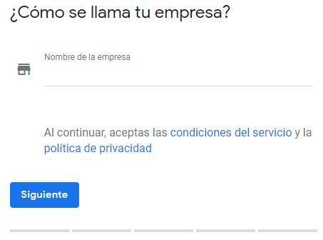 reseñas Google Cómo registrar mi negocio en Google paso 2
