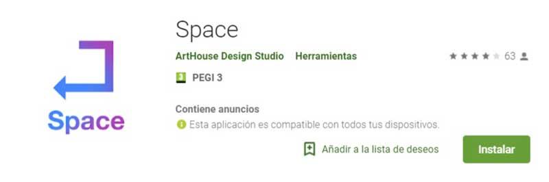 herramientas para instagram: Space