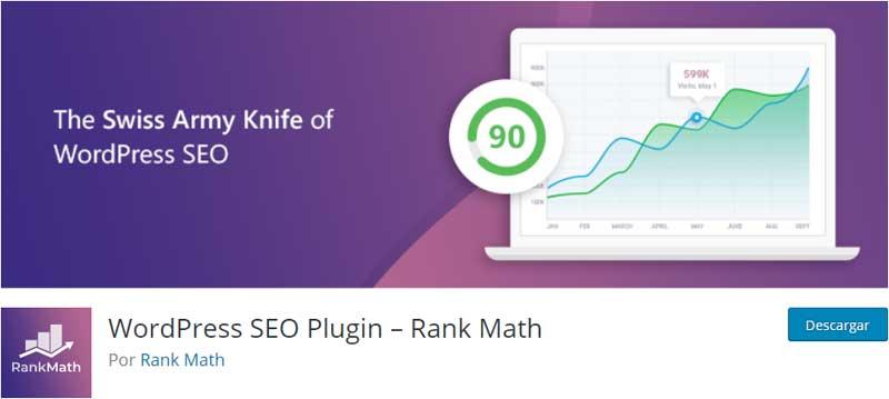 RankMath seo plugin wordpress