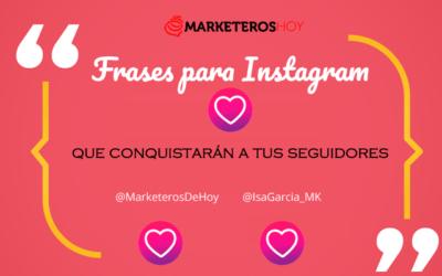 Frases para Instagram que conquistarán 😍 a tus seguidores