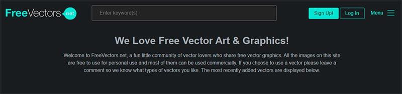 free vectors