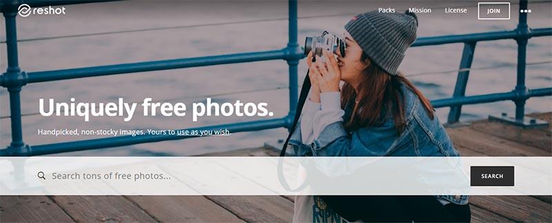 imagenes gratuitas reshot