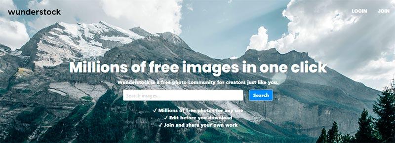 imagenes wunderstock web
