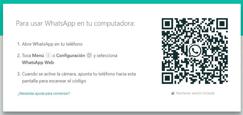 usar WhatsApp para PC paso a paso