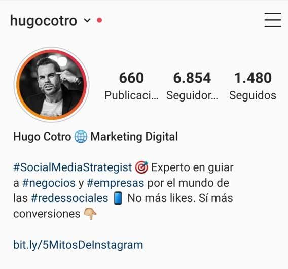 Trucos para tu perfil de instagram