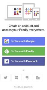 Cómo crear y configurar una cuenta de Feedly